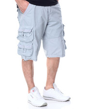 Men - Cargo Poplin Shorts