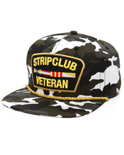 Men - Strip Club Veteran Camo Snapback