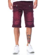 Men - Cargo - Pocket Moto Twill Shorts