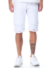 Men - Slit 5 - Pocket Denim Shorts