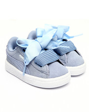 Toddler & Infant (0-4 yrs) - Suede Heart Infant Sneaker (5T-10T)