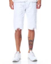 Men - Crinkle - Trim Rip Off Denim Shorts