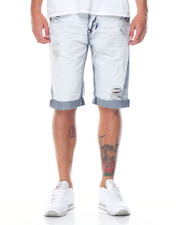 Men - Bleach - Out 5 - Pocket Denim Shorts