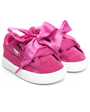 Toddler & Infant (0-4 yrs) - Suede Heart INF Sneaker (5T-10T)