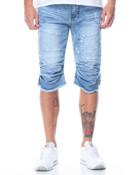 Premium Wash Denim Shorts