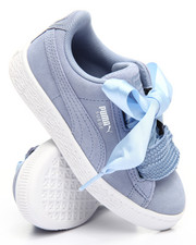 Girls - Suede Heart PS Sneaker (11-3)