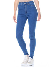 Fashion Lab - Hi Waist Stretch Denim Jeans