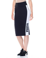 Women - ARCHIVE LOGO PENCIL SKIRT