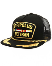 Men - Strip Club Veteran Trucker Hat