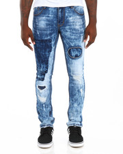 Men - Shadow Trim 5-Pocket Stretch Denim Jeans