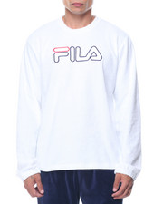 Fila - Long Sleeve Terry Crew