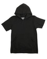 Arcade Styles - Moto S/S Pullover Hoodie (8-20)