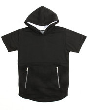 Boys - French Terry S/S  Pullover Hoodie (8-20)