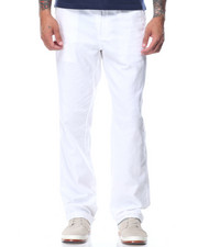 Men - Saint Lucia Drawstring Linen Pants