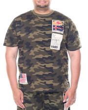 Men - Fly Society Camo Patch Short Sleeve Tee (B&T)