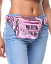 Women - Metallic Fanny Pack