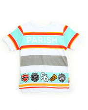 Boys - Stripe Tee (4-7)