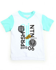 Boys - Graphic V-Neck Tee (8-20)