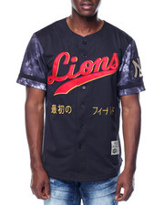 Stall & Dean - Lions Nylon Baseball Jersey