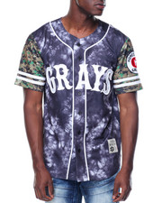 Stall & Dean - Homestead Greys Nylon Baseball Jersey