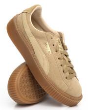 Women - Suede Platform Sneakers