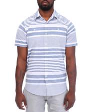 Men - S/S Stripe Woven