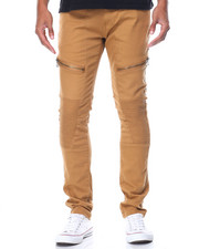 Buyers Picks - Zip Moto Twill Jeans