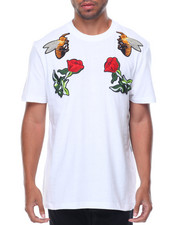 Buyers Picks - Patches/Roses Short Sleeve Tee