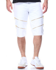 Buyers Picks - Double Zip Trim Twill Shorts