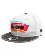 NBA, MLB, NFL Gear - 9Fifty Rugged Canvas San Antonio Spurs Snapback