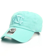 Dad Hats - North Carolina Tar Heels UNC Tiffany Blue Clean Up 47 Strapback