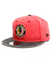 NBA, MLB, NFL Gear - 9Fifty Rugged Canvas Chicago Black Hawks Snapback
