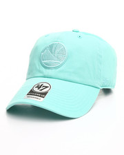 Men - Golden State Warriors Tiffany Blue Clean Up 47 Strapback