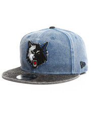 NBA, MLB, NFL Gear - 9Fifty Rugged Canvas Timberwolves Snapback