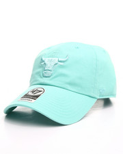 Dad Hats - Chicago Bulls Tiffany Blue Clean Up 47 Strapback