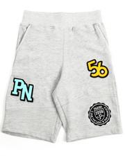 Bottoms - Patch Knit Shorts (8-20)