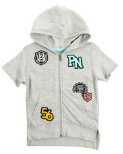 Hoodies - Patch Full Zip Hoody (4-7)