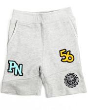 Boys - Patch Knit Shorts (2T-4T)