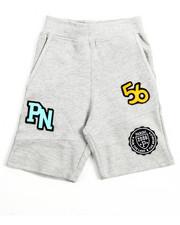 Bottoms - Patch Knit Shorts (4-7)