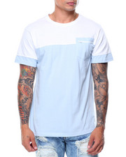 Shirts - S/S  2-Tone Pocket Tee