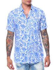 Men - S/S Printed Shirt