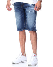 Men - Paintwash Denim Shorts