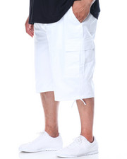 Men - Belted Cargo Shorts (B & T)