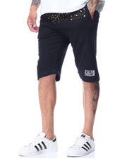 Men - French Terry Paint Splatter Shorts