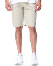 Men - Belted Solid Color Short