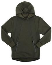 Boys - Tech Fleece Pullover Print Hoodie (8-20)