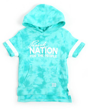 Hoodies - Double Dyed Pullover Hoodie (2T-4T)
