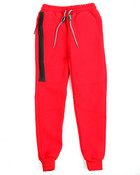 Side Zip Pocketed French Terry Jogger (8-20)