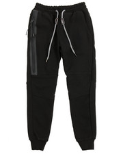 Boys - Side Zip Pocketed French Terry Jogger (8-20)