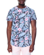 Men - S/S All Over Print Crew Neck Tee